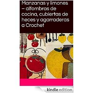Manzanas y limones alfombras de cocina cubiertas de - Alfombras cocina amazon ...