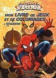 Marvel Ultimate Spider-Man - Mon livre de jeux et coloriages...