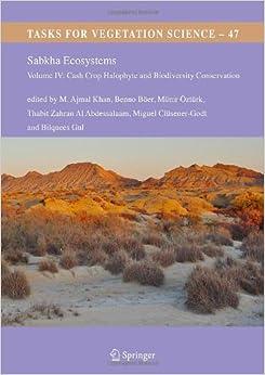 Sabkha Ecosystems: Volume IV: Cash Crop Halophyte and