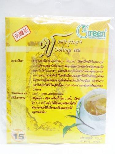 Dr. Green Brand Ootong Tea 15G (15 Tea Bags) X 2 Pack Thai