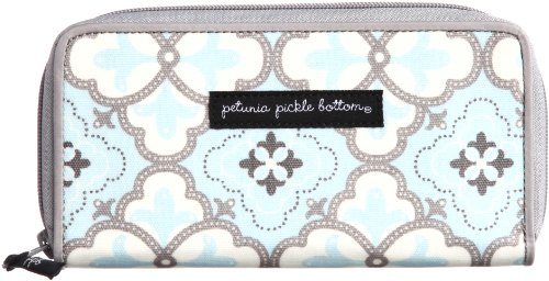 Petunia Pickle Bottom Wanderlust Wallet In Classically Crete