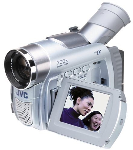 "JVC GRD30 MiniDV Camcorder with 2.5"" LCD and 16x Optical Zoom"