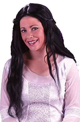 Fairy Black Wig for Halloween Costume - 1 Size