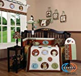 Boutique Animal Scholar 13PCS CRIB BEDDING SET Reviews