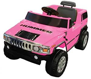 National Products 6V Pink Hummer H2 Battery Operated Ride-on