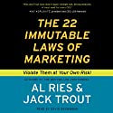 The 22 Immutable Laws of Marketing Hörbuch von Al Ries, Jack Trout Gesprochen von: David Drummond