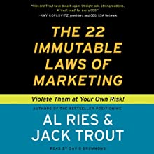 The 22 Immutable Laws of Marketing (       UNABRIDGED) by Al Ries, Jack Trout Narrated by David Drummond