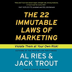 The 22 Immutable Laws of Marketing | Livre audio