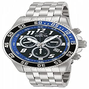 Invicta Men's 14511 Pro Diver Analog Display Swiss Quartz Silver Watch