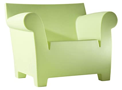 Kartell 6070/64 Bubble Club Sofa by Philippe Starck, Pack of 1, Matte Terracotta