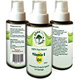 Vitamin E Oil 100% Natural Pure for Face, Skin, Hair, Scars and Stretch Marks - Love It Or Your Money Back (100ml)