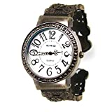 KIMIO® Vogue & Tide Bangle Watch Vintage Style Lady Watch Fashion Watch Wrist Watch - Whiteby HOTER