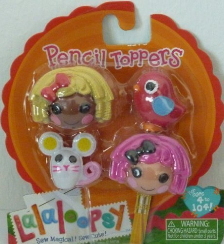 Lalaloopsy Pencil Toppers-Crumbs Sugar Cookie & Dot Starlight - 1