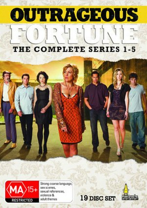 Outrageous Fortune - Complete Series 1-5 - 19-DVD Box Set ( Outrageous Fortune - Entire Series One to Five ) [ NON-USA FORMAT, PAL, Reg.4 Import - Australia ]