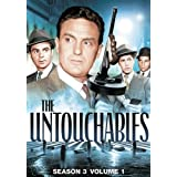 The Untouchables: Season 3 Volume 1 ~ Robert Stack