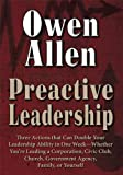 img - for Preactive Leadership book / textbook / text book