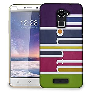 Snoogg Colorful Pattern Design Designer Protective Back Case Cover For COOLPAD NOTE 3 LITE