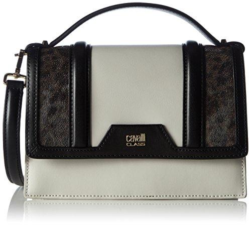CAVALLI-CLASS-Claudia-Bag-Signature-Collection-005-C60PWCGJ0052-Damen-Clutches-21x15x8-cm-B-x-H-x-T-Mehrfarbig-BlackOffwhite-F36