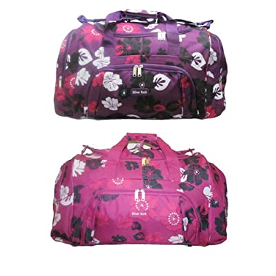 "24"" Womens Girls, Ideal For Weekend,Hospital, Maternity Bag,Travel Holdall Flight Luggage Bag, School College Holdall, Sports Gym Bag Large Holdall"