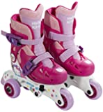 Hello Kitty Convertible 2-in-1 Kids Skate Junior, Size 6-9