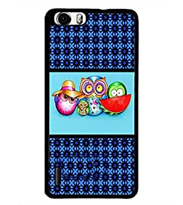 PrintDhaba Cartoon D-4270 Back Case Cover for HUAWEI HONOR 6 PLUS (Multi-Coloured)
