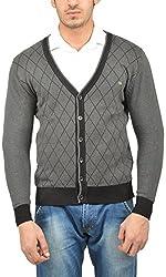 UV&W Men's Cotton Sweater (WSSF23 ANTHRA, 2XL)