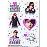 Justin Bieber Tattoo Sheets - 4 sheets
