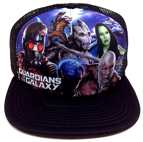 Marvel Comics Guardians of the Galaxy Mesh Trucker