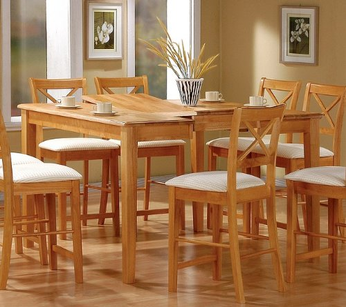 Buy Cheap Coaster Dining Table With Butterfly Leaf Counter