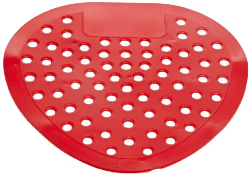 """Impact Products Impact 1401 Virgin Vinyl Deluxe Deodorizing Urinal Screen with Cherry Scent, 8"""" Length x 8"""" Width, Red (Case of 250) at Sears.com"""