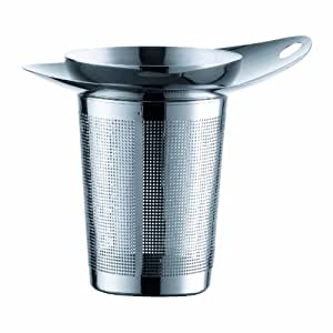 Bodum New YoYo Stainless Steel Tea Infuser with Lid