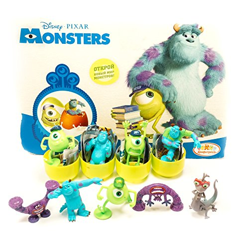 [RusToyShop] 6psc random Monsters, Inc Toys From