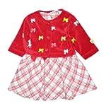 Sugar Loaf Red Tartan Frock with Jacket, Dresses, Girls