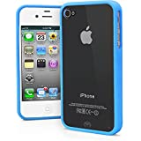 Baby Blue : IPhone 4S Case, IPhone 4 Case, MagicMobile? Ultra Slim Transparent Crystal Clear Back Flexible TPU...