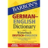 Barron's German-English Dictionary: Worterbuch Deutsch-Englischby Ursula Martini