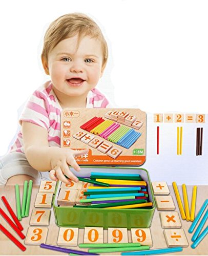 EVINIS-Wooden-Number-Cards-and-Counting-Rods-with-Steel-BoxTeaching-Aids-Mathematics-Intelligence-Sticks-Educational-Toys