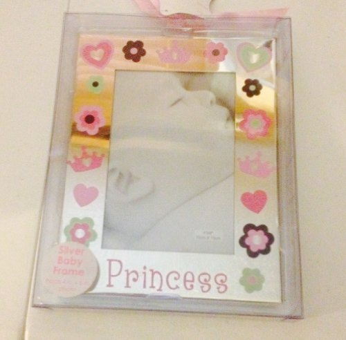 Nursery Rhyme® Silver Baby Princess Frame A. D. Sutton Sons