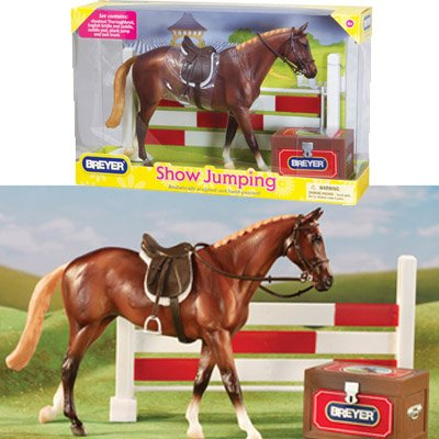 Breyer Show Jumping - Classics Toy Horse with Accessories