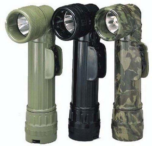 Gi ''D'' Anglehead Flashlight - Black