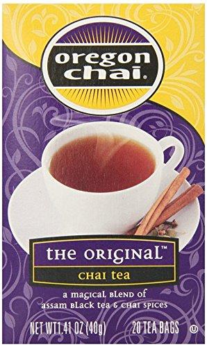 Oregon Chai The Original Chai Tea 1.41 Oz 20 Tea Bags - Pack Of 6