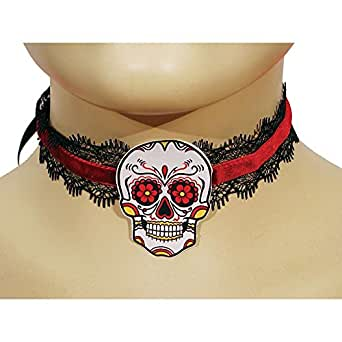 HMS Men's Day Of The Dead Choker