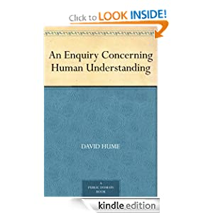 an analysis of david humes string affirmation in an inquiry concerning human understanding