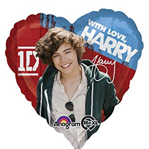 """Single Source Party Supplies - 17"""" One Direction Harry Mylar Foil Balloon by Anagram"""