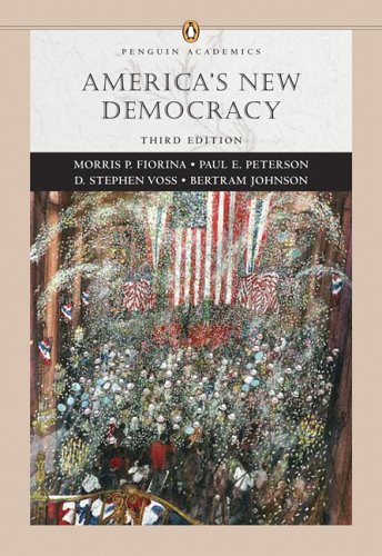 America's New Democracy (Penguin Academic Series) (3rd Edition)