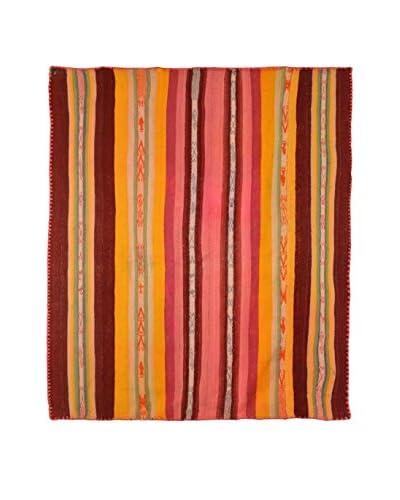 Aviva Stanoff One-of-a-Kind Peruvian Heirloom Rug, Multi, 5' x 5' 10