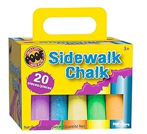 Jumbo Sidewalk Chalk 20/Pkg-