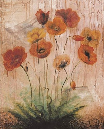 High Quality Polyster Canvas ,the Cheap But High Quality Art Decorative Art Decorative Canvas Prints Of Oil Painting 'Orange Poppies', 12x15 Inch / 30x38 Cm Is Best For Bedroom Decor And Home Decoration And Gifts