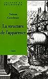 La structure de l'apparence par Goodman