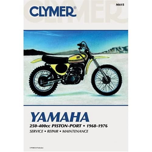 Clymer Yamaha 250-400Cc Piston-Port 1968-1976 (Clymer motorcycle repair series) Clymer Publications