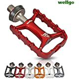 Generic K : Wellgo Original Quick Release Non-quick Release Bicycle Pedals Road Bike Ultralight Pedal MTB Cycling...